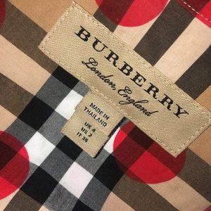 Burberry dress up shirt